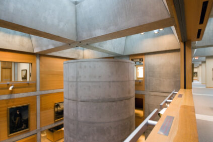 Louis Kahn Yale Center for British Art New Haven interior 9