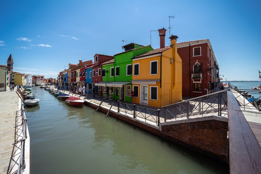 Burano island Venice colored houses 03 Inexhibit