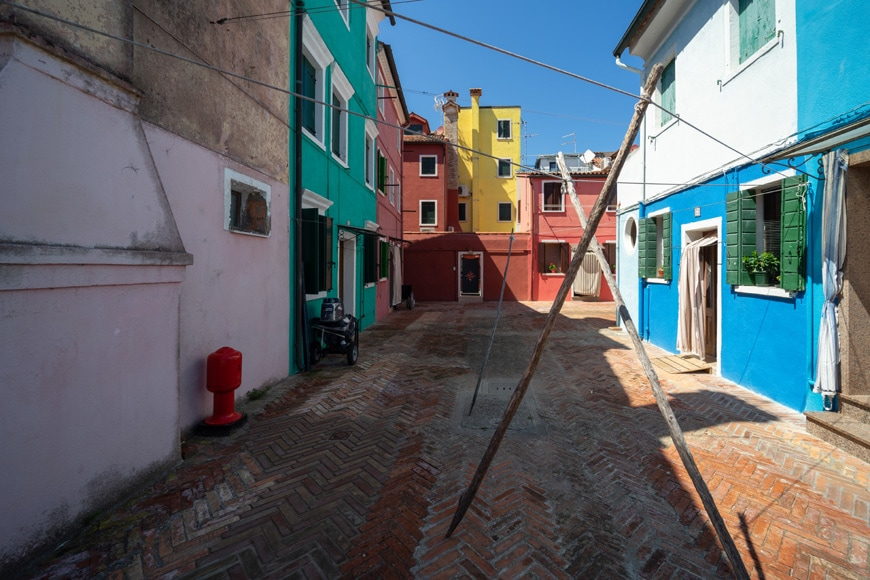 Burano island Venice colored houses 11 Inexhibit
