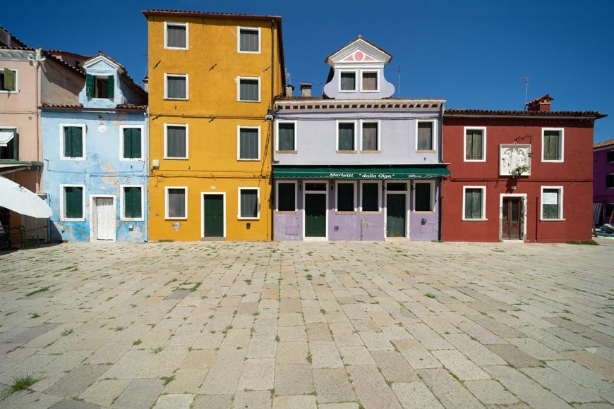 Burano island Venice colored houses 12 Inexhibit