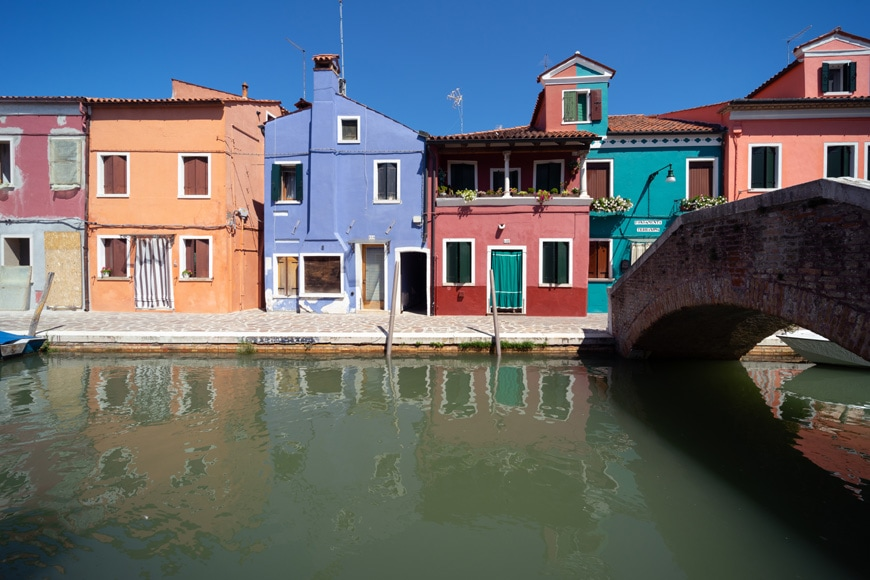 Burano island Venice colored houses 14 Inexhibit