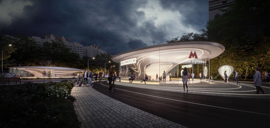 moscow-station-pavilion-external-view-night-Zaha-Hadid-Architects