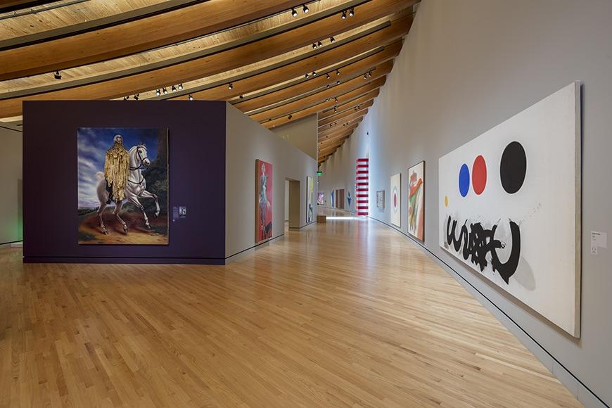 Crystal Bridge Museum of American Art, permanent exhibition interior 2