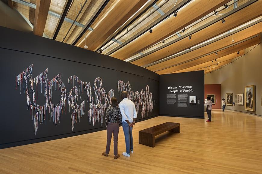 Crystal Bridge Museum of American Art, permanent exhibition interior 3
