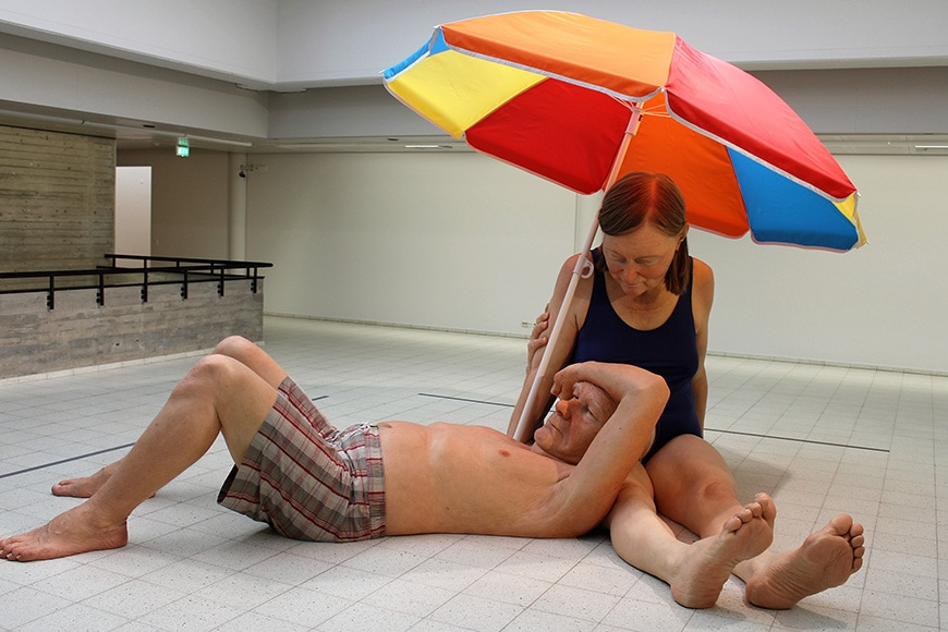 Sara Hilden Art Museum Tampere, Ron Mueck exhibition