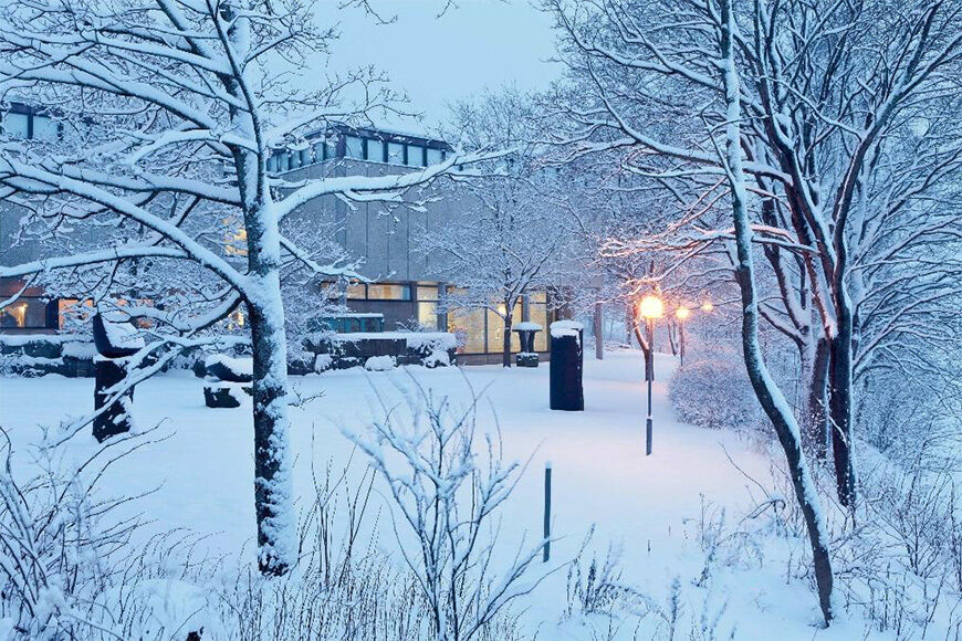 Sara Hilden Art Museum Tampere winter