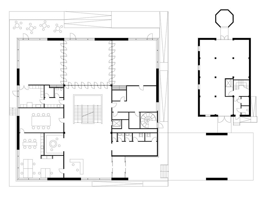 Duverden-Maritime-Museum-and-Science-Center-Porsgrunn-COBE-ground-floor-plan