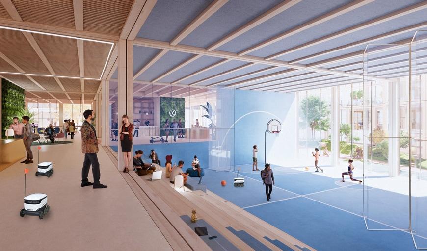 HenningLarsen-WolfsburgConnect-Multi-Use-Office-Space
