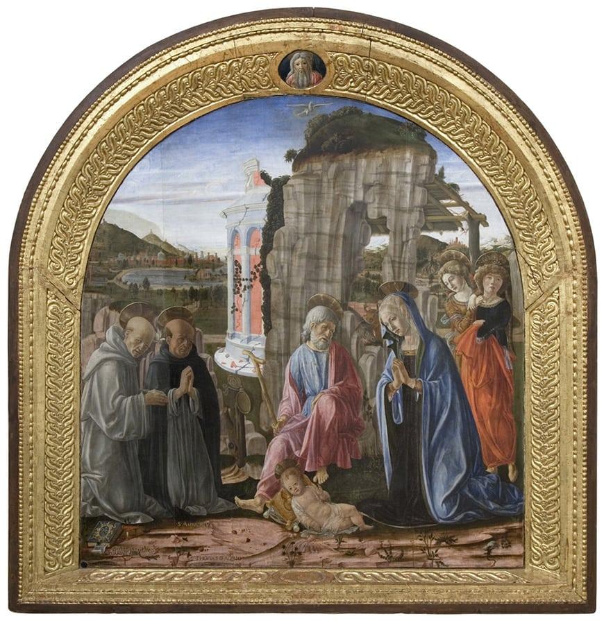 Pinacoteca Nazionale Siena, Francesco di Giorgio Martini painting