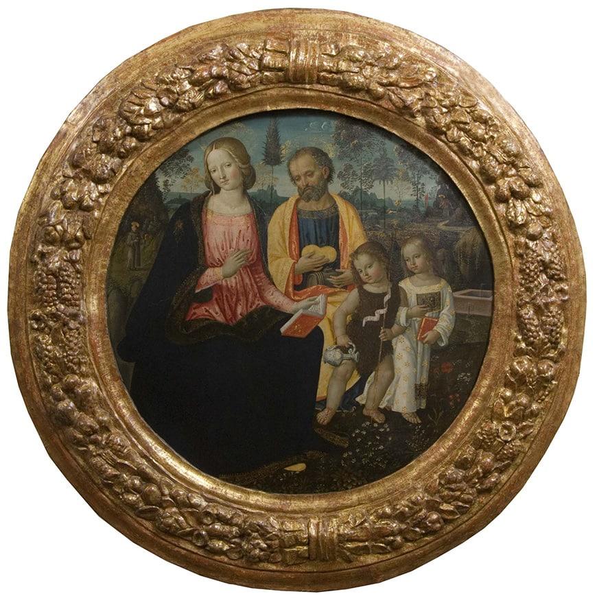 Pinacoteca Nazionale Siena Museum, Pinturicchio painting