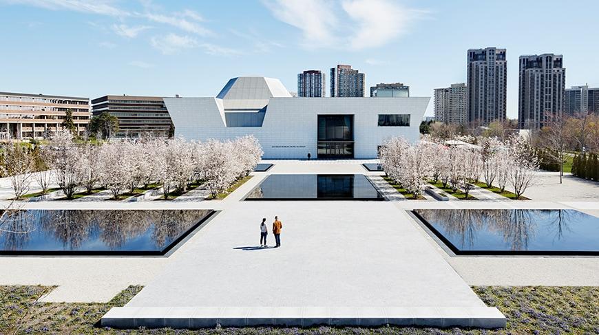 Aga Khan Museum Toronto, Fumihiko Maki, exterior 2