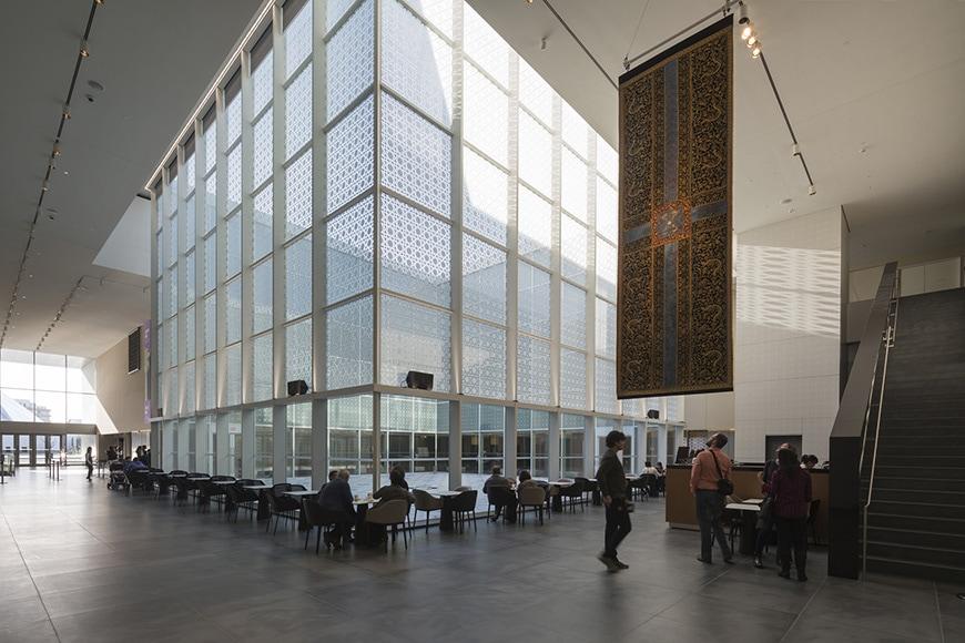 Aga Khan Museum Toronto, Fumihiko Maki, lobby