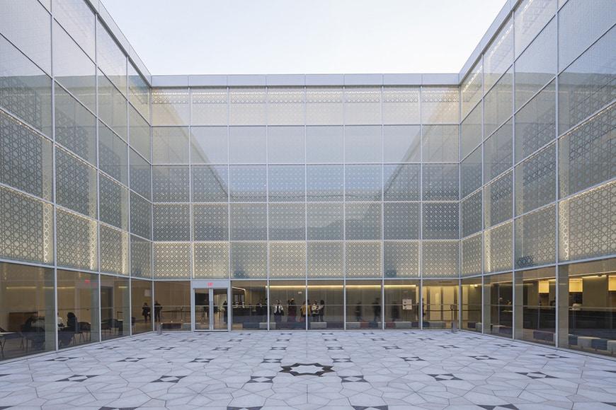 Aga Khan Museum Toronto, courtyard