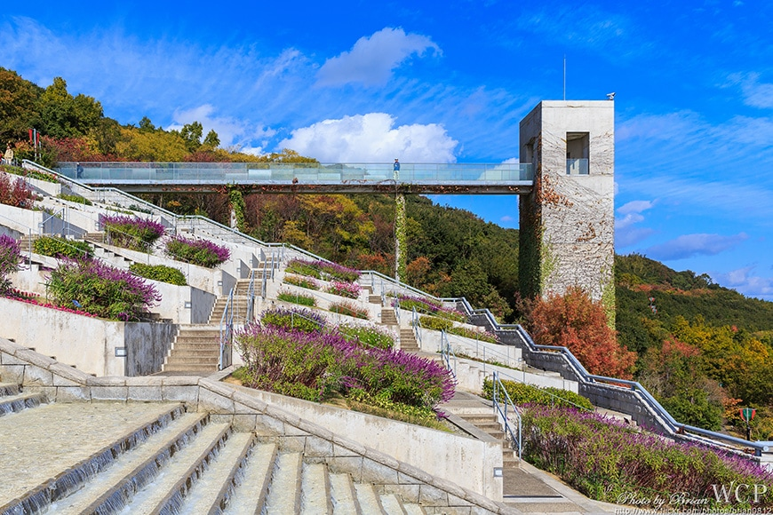 Tadao Ando, Hundred Step Garden, Awaji Yumebutai 07