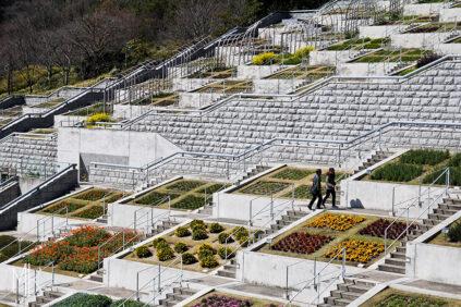 Tadao Ando Hundred Step Garden Awaji Yumebutai 09