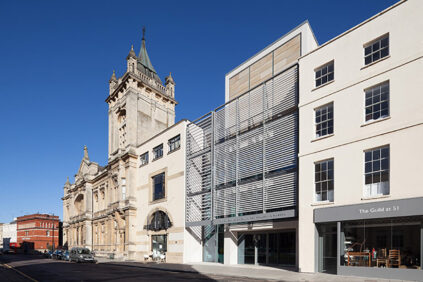 The Wilson Art Gallery and Museum, Cheltenham, Gloucestershire, south facade