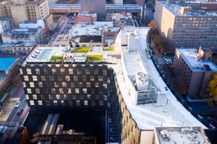 'The Smile', a new mixed-use complex in Harlem designed by Bjarke Ingels Group