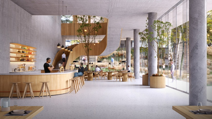3XN-wood-tower-View-interior-restaurant