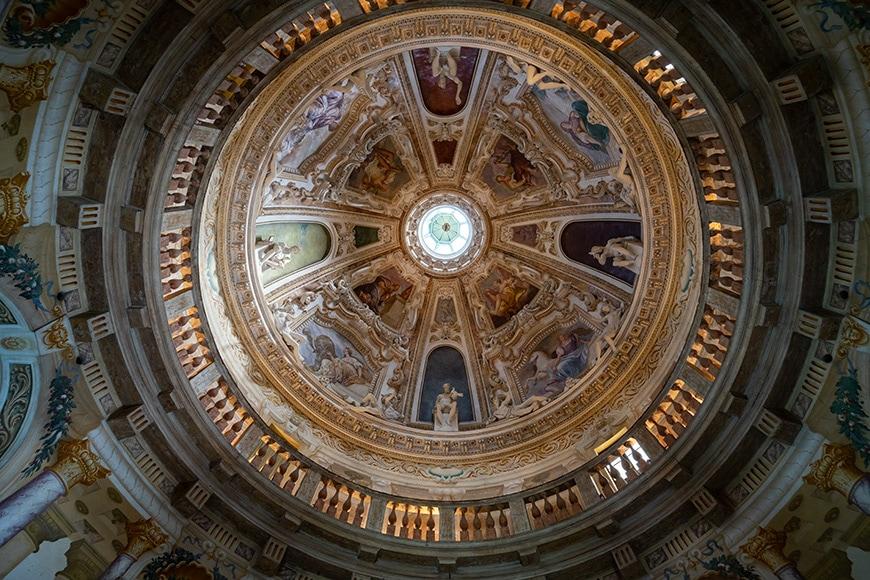 Villa La Rotonda Vicenza Andrea Palladio interior 1 Inexhibit