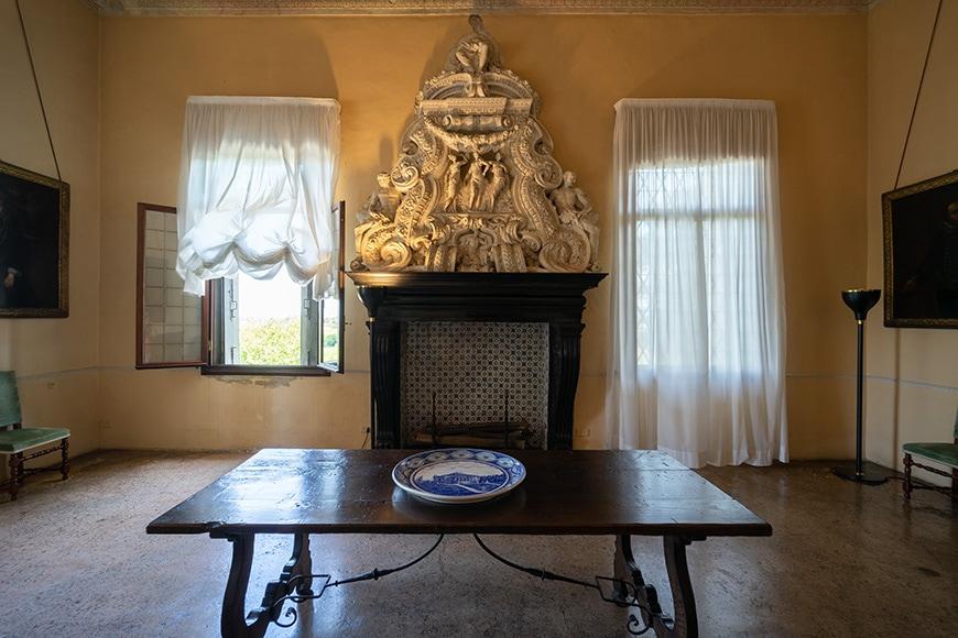 Villa La Rotonda Vicenza Andrea Palladio interior 3 Inexhibit