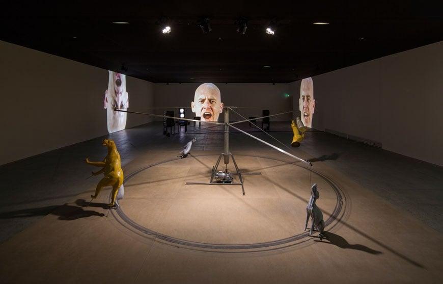Bruce Nauman, Fondation Cartier, Paris, 2015