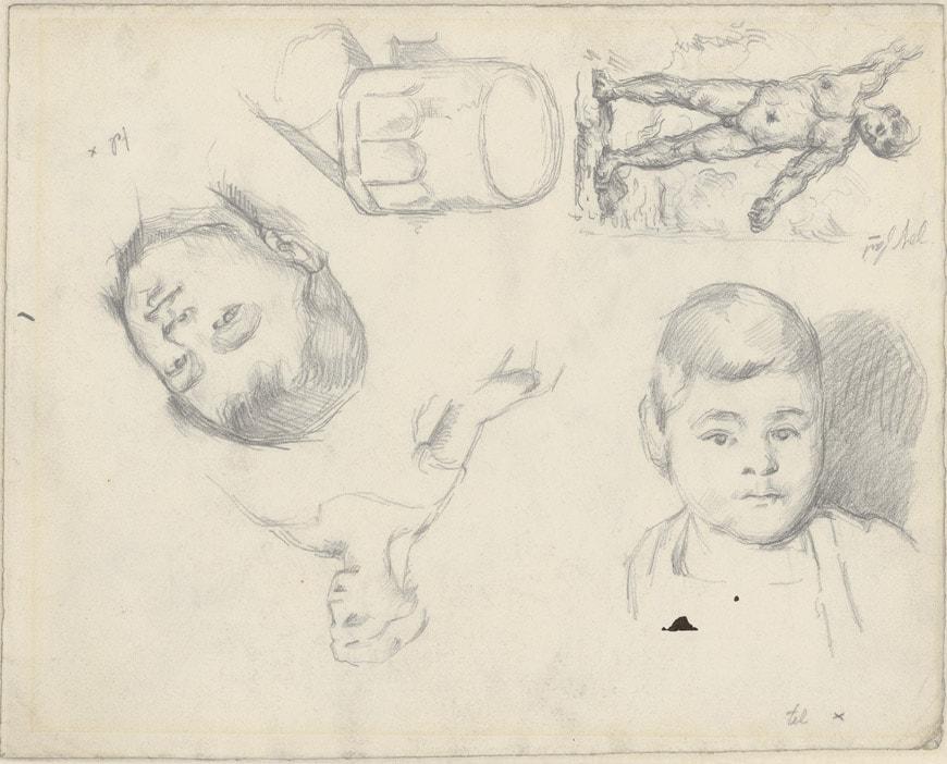 Cezanne-Studies-Portraits-Albertina-MoMA