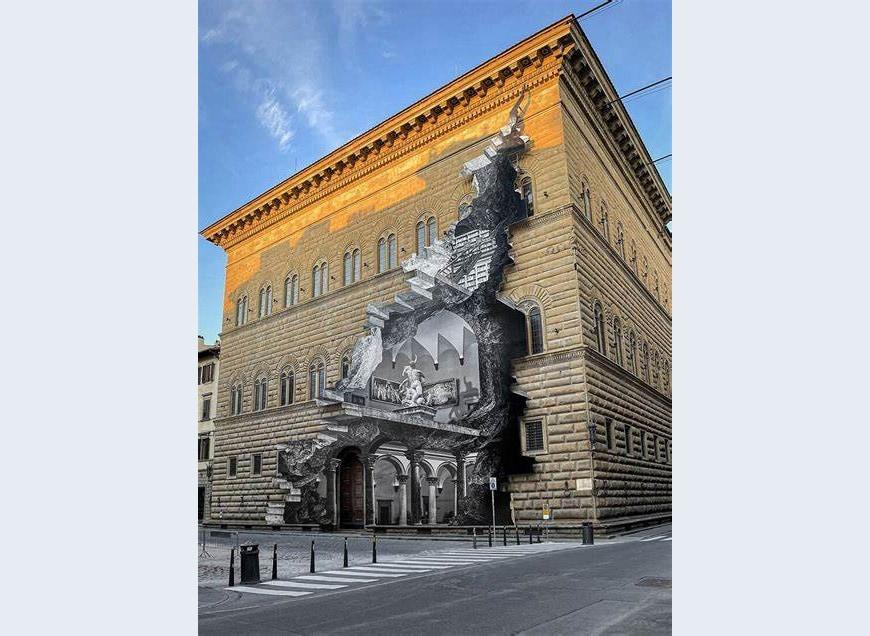 JR-the-wound-la-ferita-Palazzo-Strozzi-Firenze-Florence