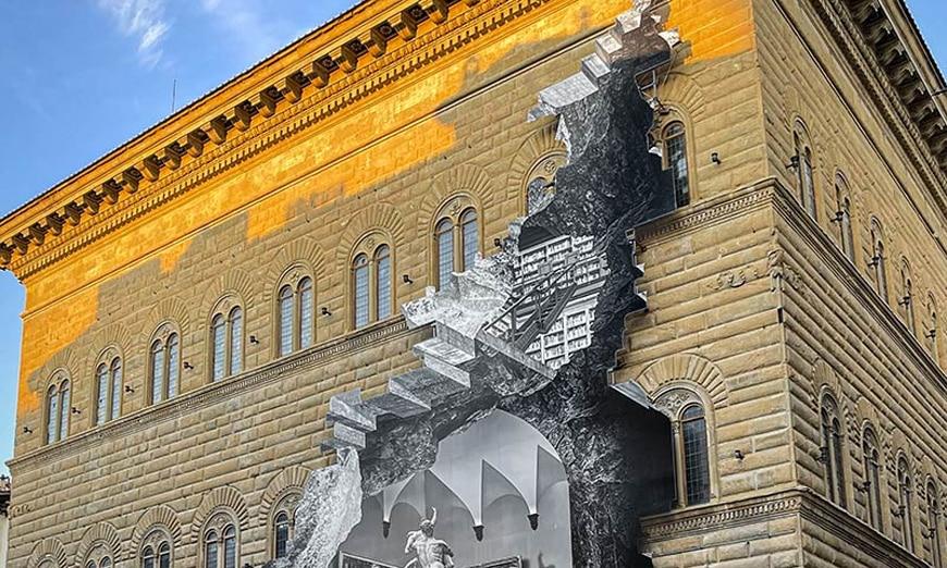 JR-the-wound-la-ferita-detail-Palazzo-Strozzi-Firenze-Florence