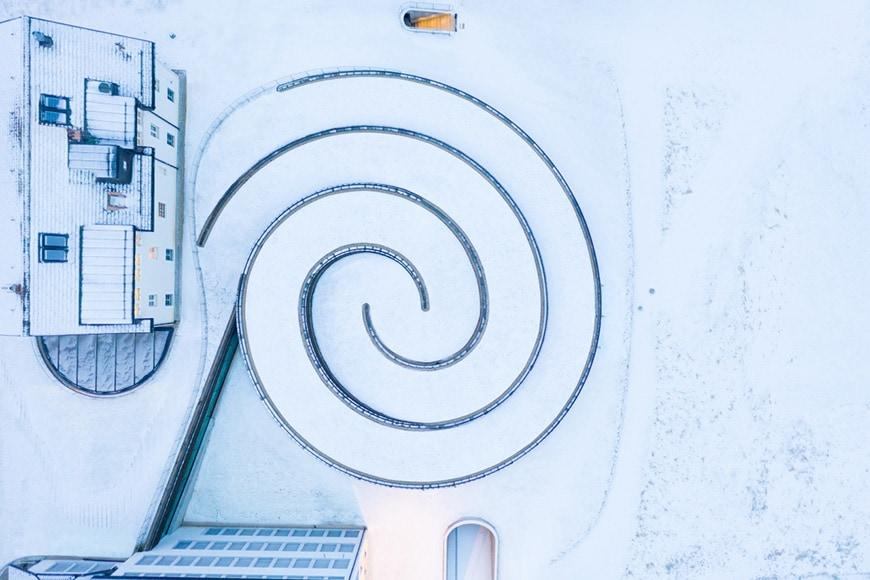 Musée Atelier Audemars Piguet, BIG, aerial view