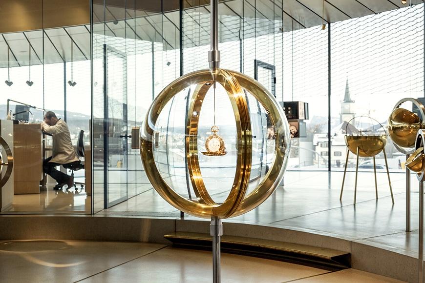 Musée Atelier Audemars Piguet, BIG, permanent exhibition gallery 5