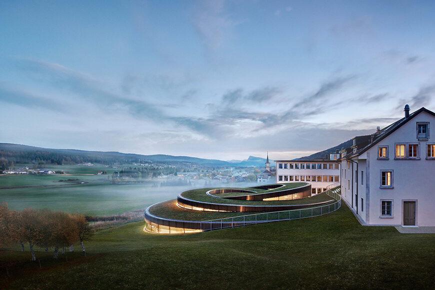 Musée Atelier Audemars Piguet, Le Brassus, Switzerland, Bjarke Ingels Group 01