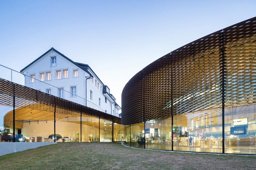 Musée Atelier Audemars Piguet, Le Brassus, Switzerland, Bjarke Ingels Group 2