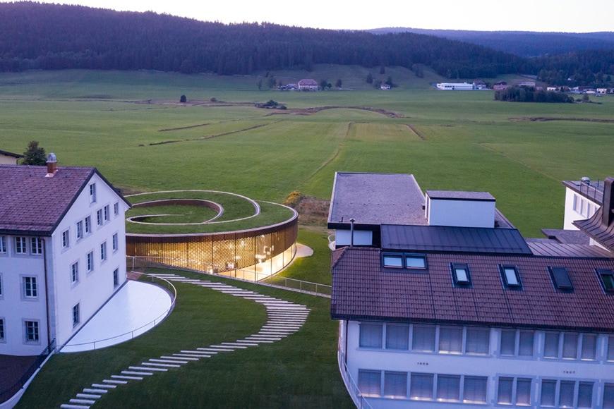 Musée Atelier Audemars Piguet, Le Brassus, Switzerland, Bjarke Ingels Group 3