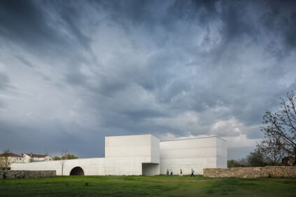 Nadir Afonso Contemporary Art Museum Chaves, Alvaro Siza exterior 1
