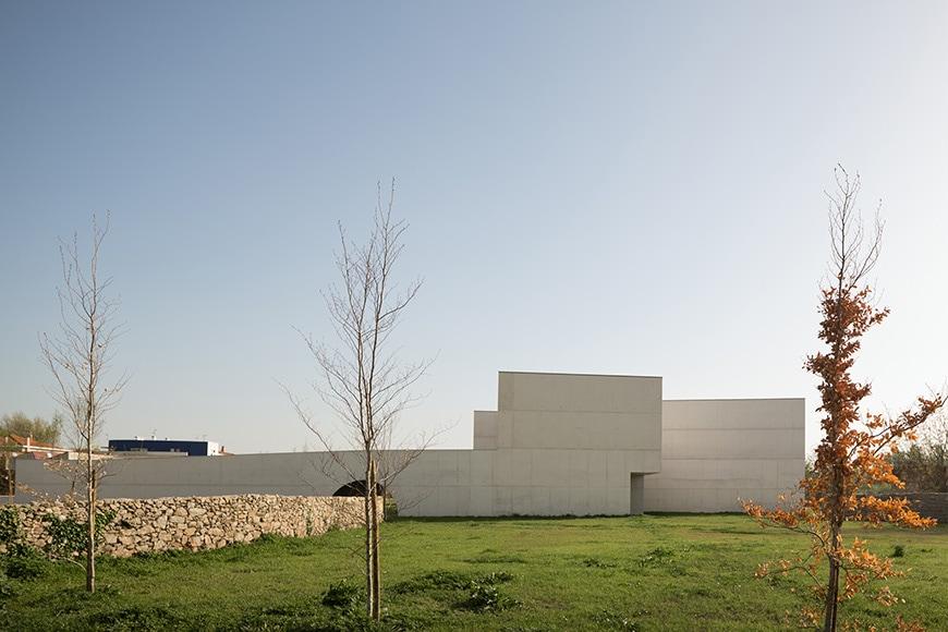 Nadir Afonso Contemporary Art Museum Chaves, Alvaro Siza exterior 3