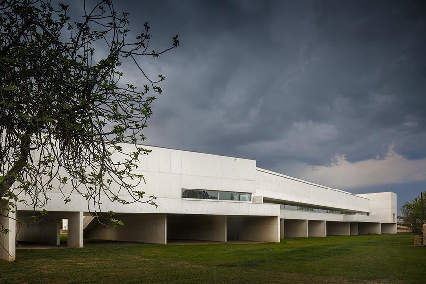 Nadir Afonso Contemporary Art Museum Chaves, Alvaro Siza exterior 5