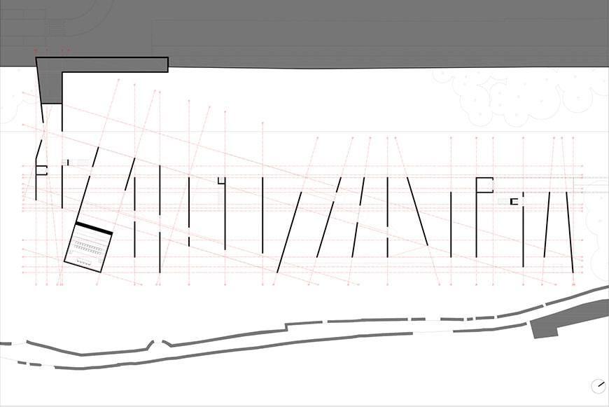 Nadir Afonso Contemporary Art Museum Chaves, Alvaro Siza ground floor plan