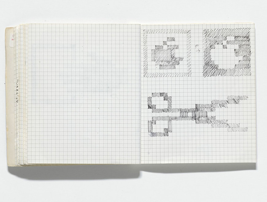 Susan Kare Macintosh icon sketchbook
