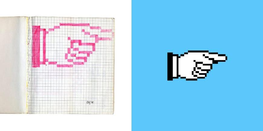 Susan Kare Macintosh icons 1