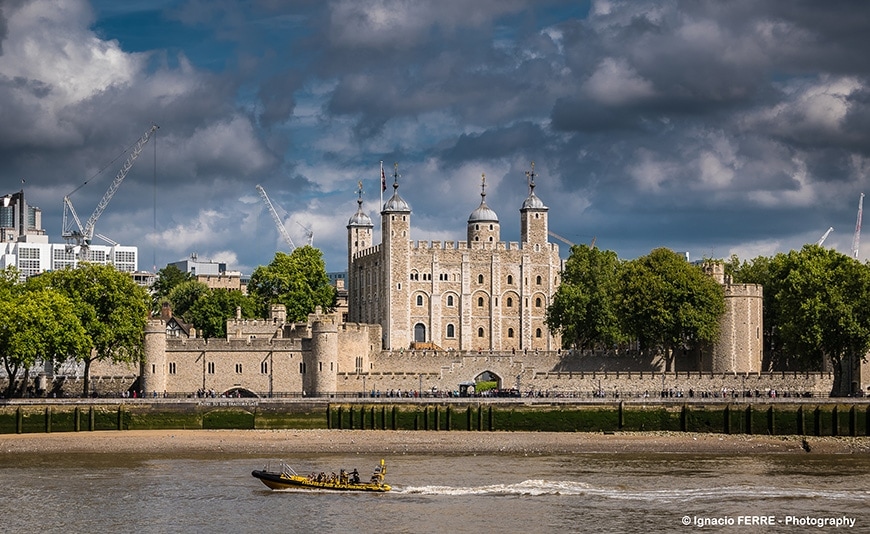 Tower of London from across the Rver Thames