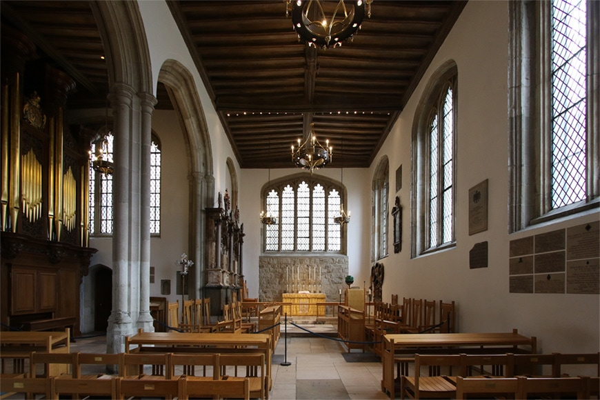 Tower of London, Chapel Royal of St Peter ad Vincula