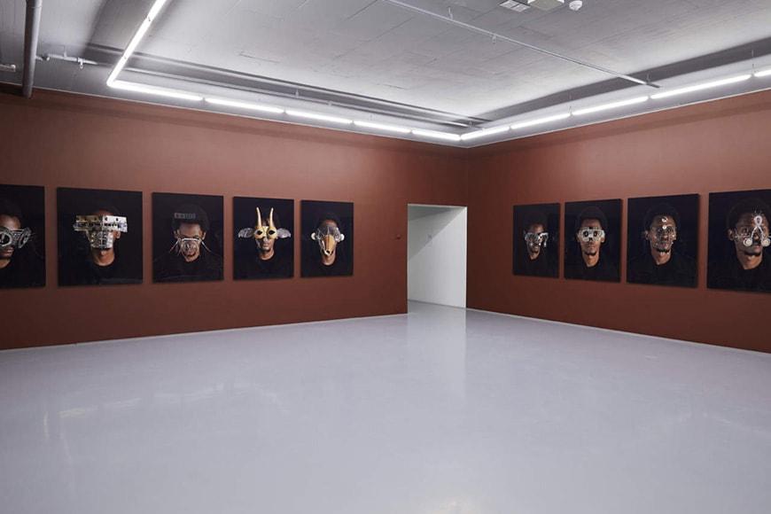 Zeitz MOCAA, Cyrus Kabiru. Macho Nne series, installation view