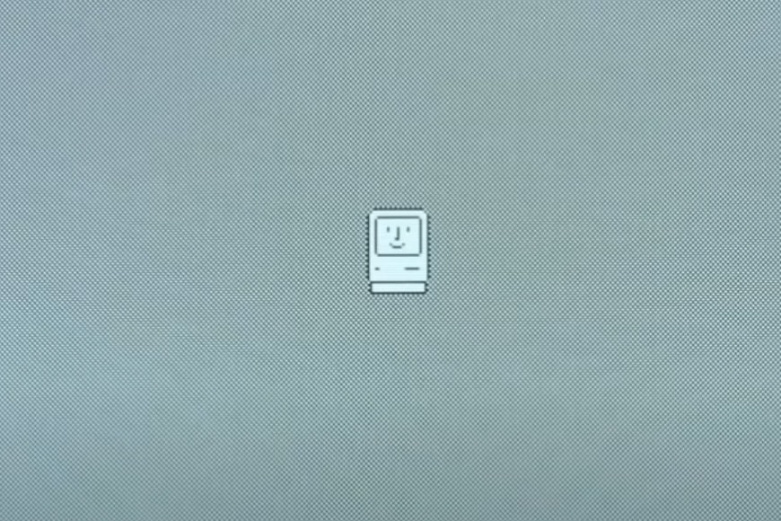 happy Mac Macintosh startup Susan Kare icons