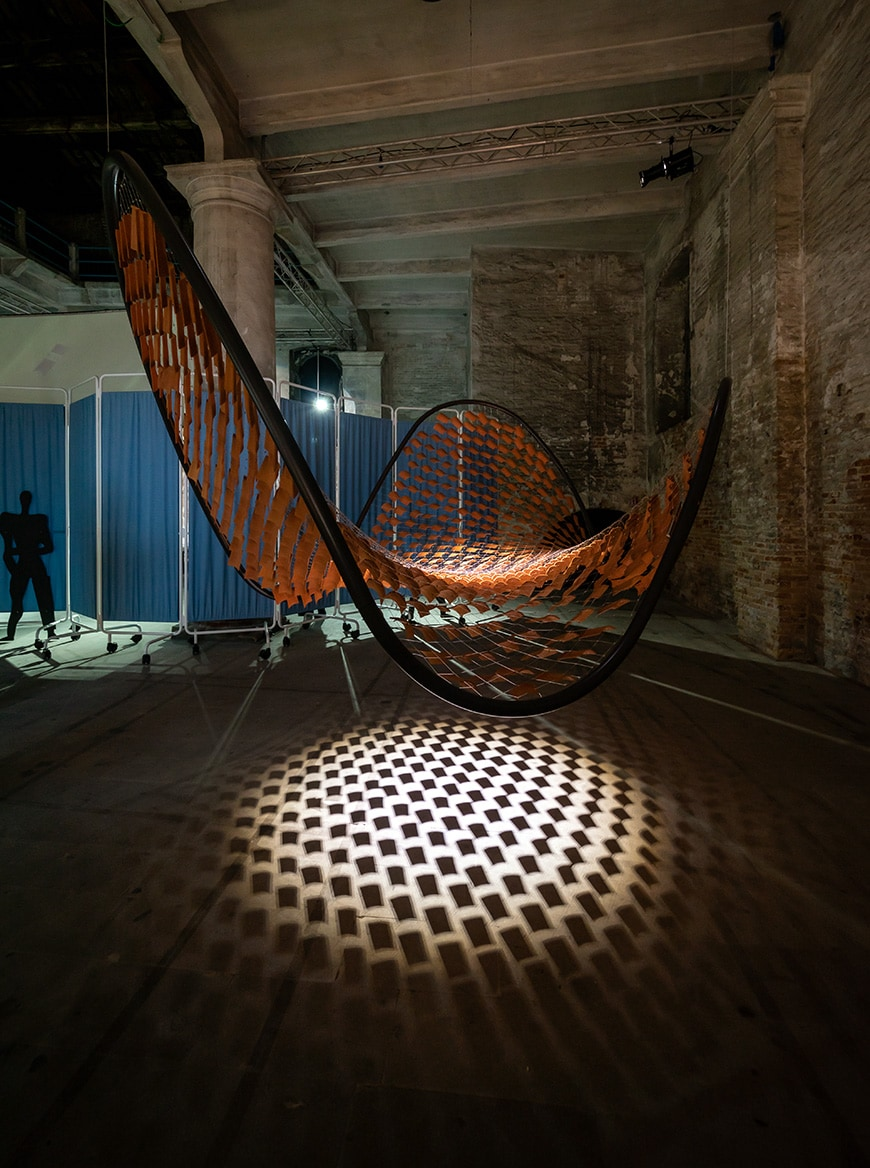 Base Studio, Flocking Tejas, Venice Architecture Biennale 2021, Bianchini Inexhibit s