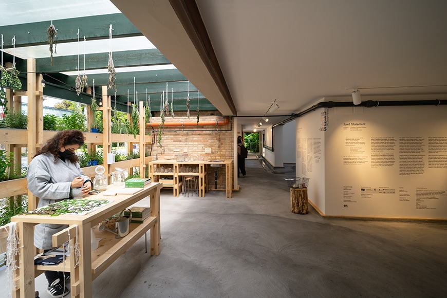 Danish Pavilion, Venice Architecture Biennale 2021, Bianchini Inexhibit 08s