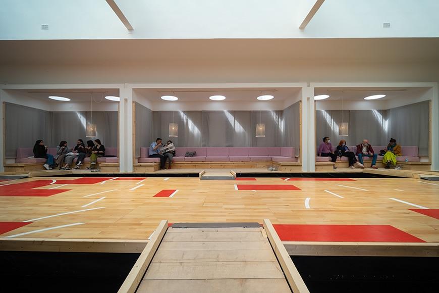 Danish Pavilion, Venice Architecture Biennale 2021, Bianchini Inexhibit 09s