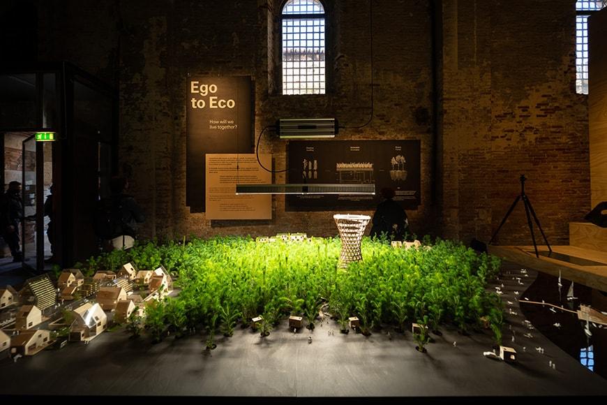 Effekt, Ego to Eco, Venice Architecture Biennale 2021, Bianchini Inexhibit s