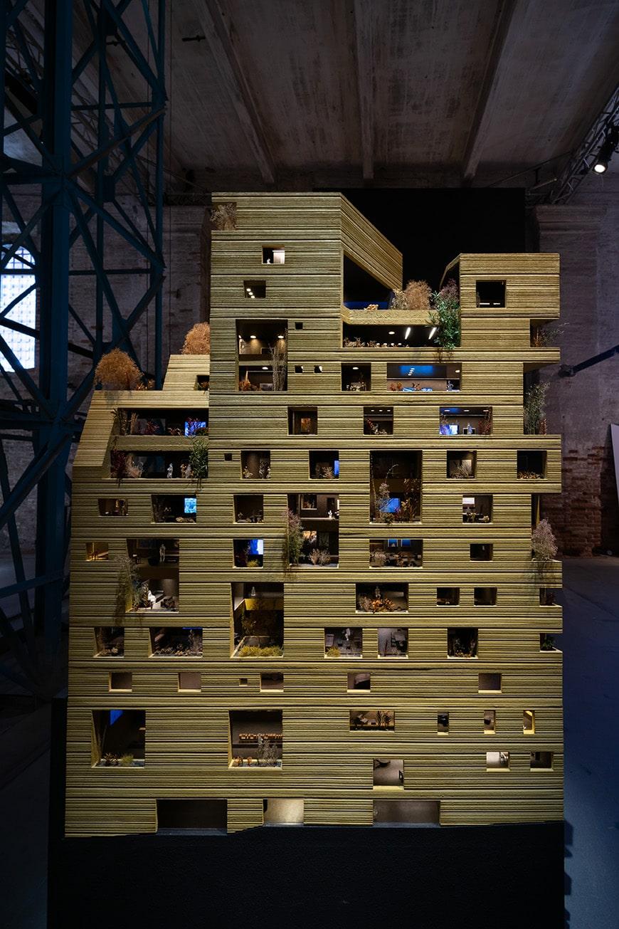 Lina Ghotmeh, Home Ground, Beirut building, Venice Architecture Biennale 2021, Bianchini Inexhibit s