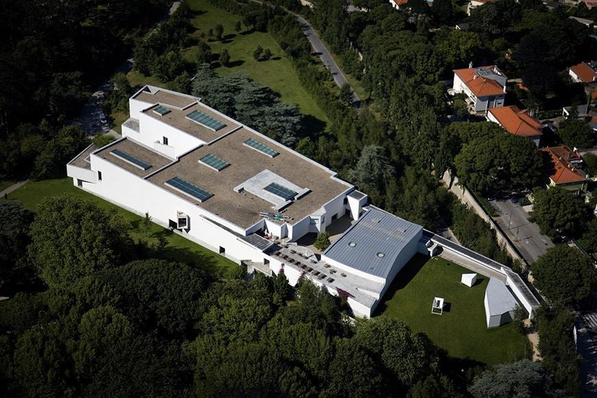 Museu de Arte Contemporânea de Serralves, Porto, Alvaro Siza Vieira aerial