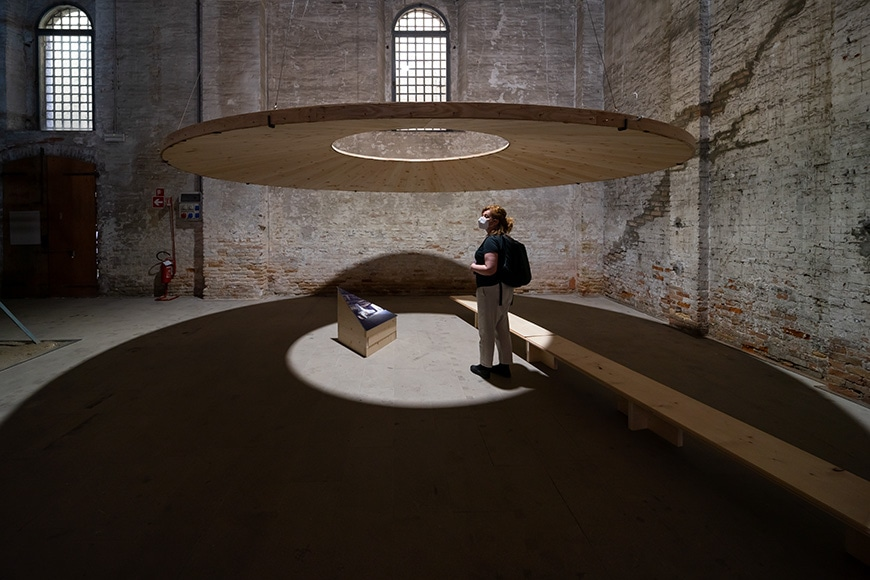 OPAFORM Architects, Make a space for my body, Venice Architecture Biennale 2021, Bianchini Inexhibit s
